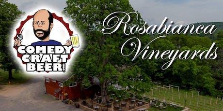 Rosabianca Vineyard Comedy Night tickets