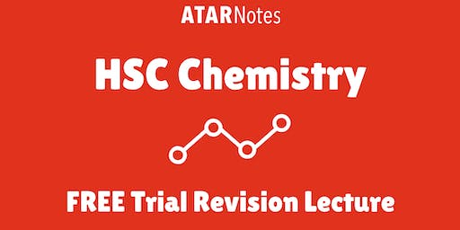 [Sold Out] Chemistry - FREE Trial Revision Lecture