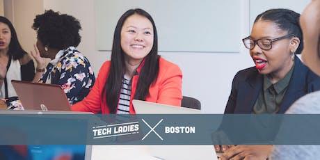 Tech Ladies Boston: Headshot and Resume + Portfolio Feedback Night tickets