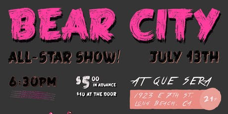 Bear City Comedy: All-Star Show! tickets