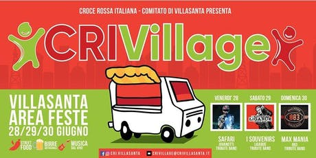 Crivillage - Street Food & Music Fest 2019   Villasanta biglietti