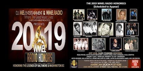 The 2019 WMEL Radio Honors...Honoring The Legends of Soul And R&B tickets