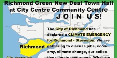 Richmond Green New Deal Town Hall
