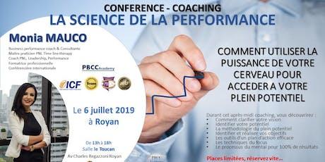 Conférence - Coaching La Science de le Performance billets