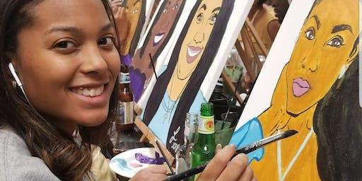 Pam's Bday Super Selfie Paint Party