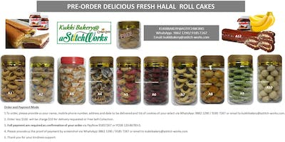 Look for Fresh Hand-made Halal Cookies- Cakes