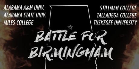 "2019  ""BATTLE FOR BIRMINGHAM"" Battle of the Bands tickets"