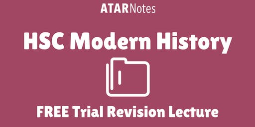 Modern History - FREE Trial Revision Lecture