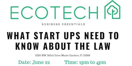 What Start Ups Need to Know About the Law tickets