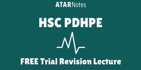 ATAR Notes - HSC Lectures Events | Eventbrite