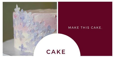 Watercolor Cake Decorating Class  tickets