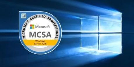 MCSA Server 2016: 70-740: Installing, Storage and Compute with Windows Server 2016 tickets