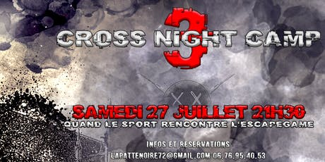 Cross Night Camp 3 billets