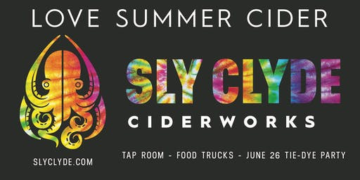 Sly Clyde Tie-Dye Pride Party
