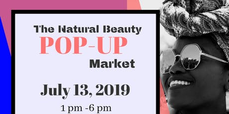 The Natural Beauty Market  Pop Up tickets