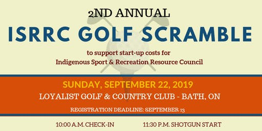 2nd Annual ISRRC Golf Scramble