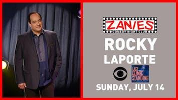 Comedian Rocky LaPorte