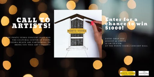 Call to Artists! Ponte Vedra Concert Hall Art Contest