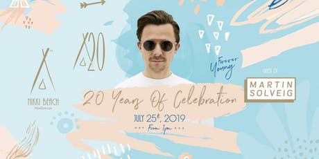 20 Years Celebration of Nikki Beach Tickets