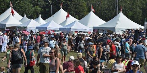 Volunteers meeting -  Palestine Pavilion @ Edmonton Heritage Festival