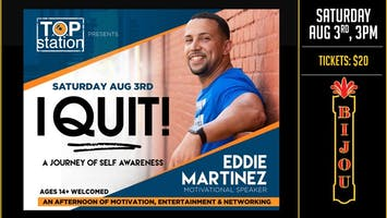 I QUIT! - A Journey of Self Awareness With Eddie Martinez