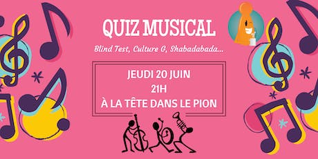 Quiz Musical ! billets