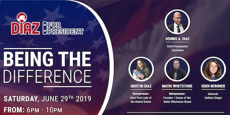 Diaz For President Rally: Being The Difference tickets