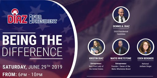 Diaz For President Rally: Being The Difference
