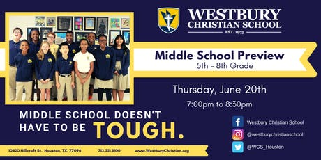 Middle School Preview tickets