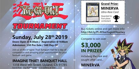 Yu-Gi-Oh Trading Card Game - 3.2K Tournament tickets
