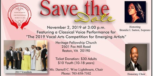 2019 Vocal Arts Competition