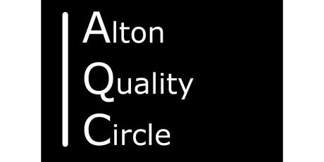 AQC is a forum for anyone interested in Quality.  tickets