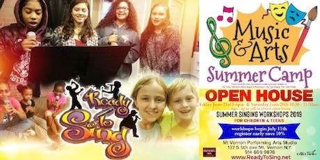 ReadyToSing Summer Singing Workshop- Children & Teens tickets