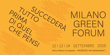 Milano Green Forum tickets
