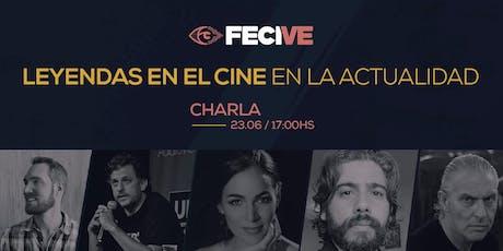 CHARLA/LEYENDAS EN EL CINE EN LA ACTUALIDAD entradas