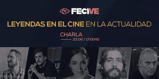 CHARLA/LEYENDAS EN EL CINE EN LA ACTUALIDAD