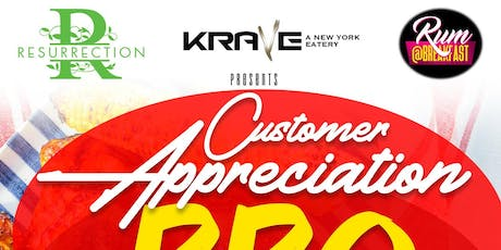 Krave Customer Appreciation tickets