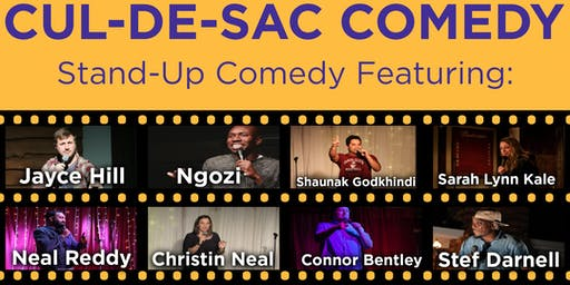 Cul-de-Sac Stand-Up Comedy Show (16+)