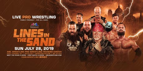 AML Wrestling presents: Lines In The Sand tickets