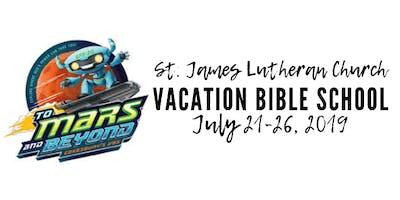 St. James Lutheran Church Vacation Bible School