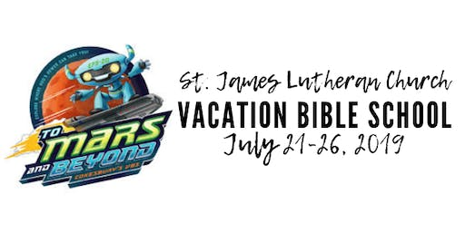 St. James Lutheran Church Vacation Bible School