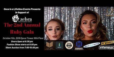 2nd Annual Ruby Gala tickets