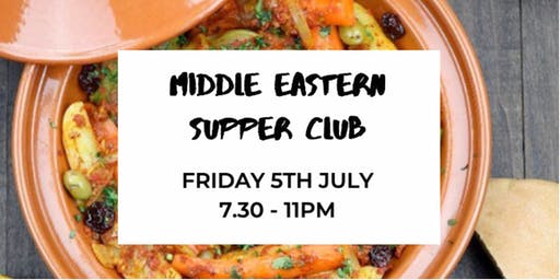 Middle Eastern Supper Club