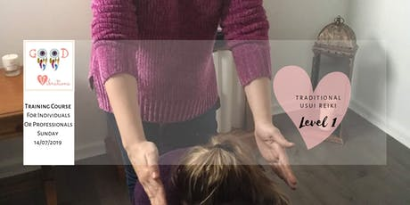 Usui Reiki Training for Individuals and Professionals - Level One tickets