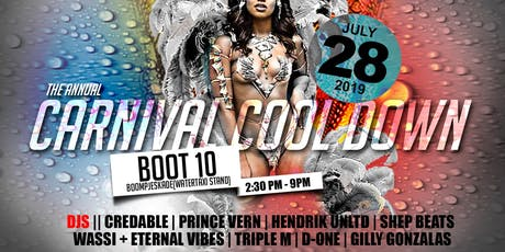 The Carnival Cool Down tickets