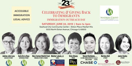Celebrating and Giving Back to Immigrants | Immigration Outreach Day tickets