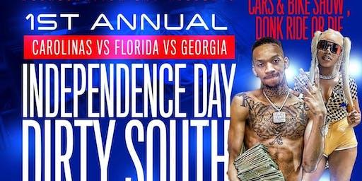 Carolinas Vs Florida Vs Georgia 1st Annual Independence Day Dirty South ReUnion Car & Bike Show And Grudge Match