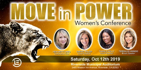 Move In Power Women's Conference tickets