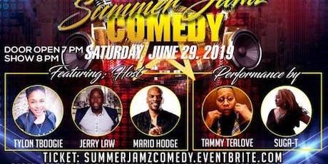 Summer Jamz Comedy live w Suga_T (E40's sisster) Mario Hodge, Tammy TeaLove tickets