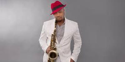 Marcus Anderson, Saxophonist All White Jazz Party